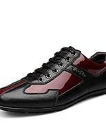 Для мужчин Кеды Удобная обувь Обувь для дайвинга Осень Зима Натуральная кожа Наппа Leather Кожа Повседневные Для вечеринки / ужина