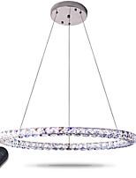 Moderni lampadari di cristallo dell'anello principale illuminano i lampadari di cristallo moderni plafonieri chiari del soffitto dimmable