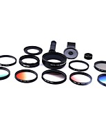 XiHAMA Smartphone Camera Lenses 0.45X Wide Angle 12.5X Macro fish-eye lens CPL for ipad iphone Huawei xiaomi samsung