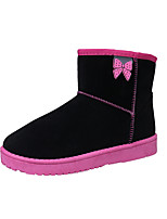 Women's Boots Comfort Fabric Winter Casual Flat Heel Blushing Pink Blue Gray Black Flat