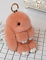 DIY Automotive Pendant  Lovely Rabbit Dolls Car Pendant & Ornaments  Nylon Leather