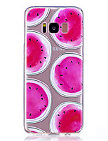Case for Samsung Galaxy S8 Plus S8 Transparent Pattern Back Cover Fruit Soft TPU S7 Edge S7