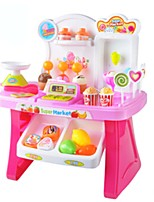 Pretend Play Grocery Shopping Toy Cars Ice Cream Toy& Candy Car Toys Music Kids Pieces