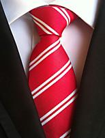 Men's Polyster Neck TieNeckwear Striped All Seasons W0071