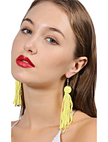 Women's Earrings Set Crystal Tassel Multi Layer Handmade Fashion Bling Bling Crystal Ball Jewelry For Daily Ceremony Going out Club Street
