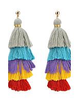 Damen Tropfen-Ohrringe Modisch Klassisch Elegant Mehrlagig Aleación Schmuck Für Alltag Normal Party Formal Verabredung Strasse