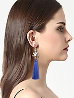 Per donna Orecchini a goccia Orecchini a cerchio Di tendenza stile della Boemia Personalizzato Acrilico Resina Lega Gioielli PerFeste