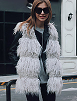 Faux Fur Wedding Party / Evening Women's Wrap Vests
