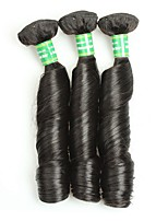 Mink Brazilian Virgin Hair Bouncy Curly 3 Bundles Unprocessed Virgin Human Hair Extensions Brazilian Hair Weave Bundles