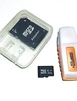 32gb microsdhc tf scheda di memoria con lettore di schede usb e adattatore sdhc sd