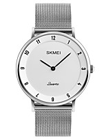 SKMEI Men's Dress Watch Fashion Watch Wrist watch Casual Watch Japanese Quartz Water Resistant / Water Proof Stainless Steel Band Cool