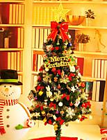 1pc nouvel arbre de Noël arbre 150cm / 1.5 meakin chargé hôtel de luxe décoré arbre de Noël et ornements décoratifs de Noël