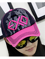 Women's Acrylic Polyester Nylon Baseball Cap,Hat Chic & Modern Sport Print Spring/Fall Pure Color
