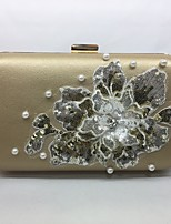 Women Bags All Seasons PU Evening Bag for Event/Party Gold Black Silver