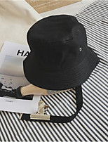 All Cotton Floppy Hat Sun Hat,Hat Casual/Daily Solid Spring/Fall Summer
