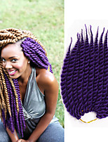 Havana mambo Twist crochet Braids synthethe Hair Extensions Kanekalon Hair Hair Braids 12-24inch 12root/pack 6-8pcs/head Senegal Twist Hair Extensions