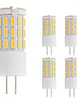 3W G4 LED Bi-pin Lights T 42 leds SMD 4014 Warm White Cold White 260lm 2800-3500;5000-6500K AC/DC 12V