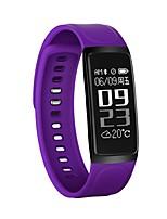 braccialetto intelligente del bluetooth della donna di yy c7s / smartwatch / pedometro di sport per il telefono androide di ios