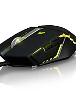 Ajazz gtc 7keys 2000dpi usb backlight отягчающая игровая мышь с кабелем 170 см a5050