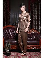 Pyjama Soie Rayonne Soie Glacée Homme