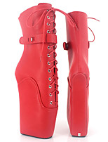 Women's Boots Novelty Fashion Boots PU Fall Winter Party & Evening Platform More color 5in & over