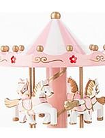 Bälle Spieluhr Spielzeuge Pferd Karusell Blume Kunststoff Holz Stücke Unisex Geburtstag Geschenk
