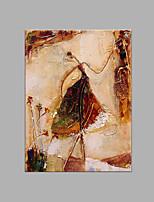 Dipinta a mano Astratto Verticale,Artistico Un Pannello Tela Hang-Dipinto ad olio For Decorazioni per la casa