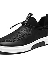 Men's Sneakers Spring Fall Winter Comfort Patent Leather Outdoor Office & Career Casual Flat Heel