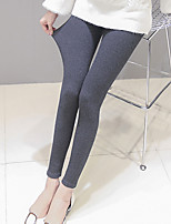 Women's Thin Solid Color Sporty Legging,Striped
