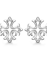 Per donna Orecchini a bottone Zirconi Di tendenza Personalizzato Ipoallergenico Classico Lega A forma di fiore Gioielli PerCompleanno