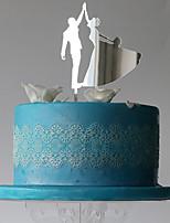 Decorazioni torte Coppiaclassica Matrimonio Feste Occasioni speciali Bustina PVC