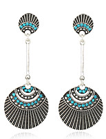 Women's Earrings Set Basic Geometric Metallic Rhinestone Alloy Jewelry For Gift Daily Evening Party Club