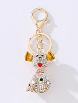 The New Car Bag Key Ring Cartoon Snoopy Dog Metal Idea Set The Drill Key Ring