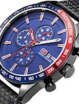 Per uomo Orologio sportivo Orologio alla moda Orologio casual Orologio da polso Creativo unico orologio Quarzo Calendario Cronografo