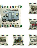 6 pezzi Cotone/Lino Stampe Novità Di tendenza Fantastico Nuovo arrivo Alta qualità Modern Retrò Neoclassicismo