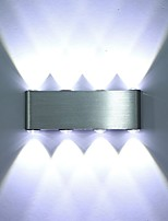 Hot Sell Modern 8W LED Wall Sconce Light Fixture Indoor Hallway Wall Lamp Aluminum Decorative Lighting LED Integrated