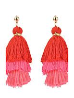 Per donna Orecchini a goccia Multistrato Tasselli Di tendenza stile della Boemia Classico Elegant Lega Gioielli PerQuotidiano Casual
