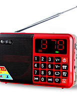 L63 Portable Radio The Elderly Multifunction Card Breakpoint Memory Digital Song