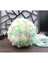 Bouquet sposa Bouquet Matrimonio Con perline Pizzo 30cm