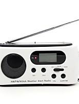 612.65 Rádio portátil Lanterna Branco