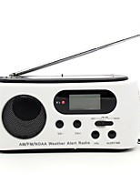 612.65 Radio portable Torche Blanc