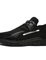 Da uomo Sneakers Comoda Estate Autunno Tulle Casual Lacci Piatto Bianco Nero Rosso Piatto