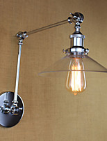 AC 110-120 AC 220-240 40 E26/E27 Vintage Country Retro Electroplate Feature for Mini Style Swing Arm Bulb Included,Ambient Light Swing