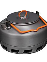 Camping-Wasserkocher Camping-Kaffeekanne Teekanne Tragbar Aluminium für Picknick Camping & Wandern