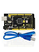 1pcs keyestudio mega 2560 r3 1pcs usb-kabel für arduino mega 2560 r3 / avr
