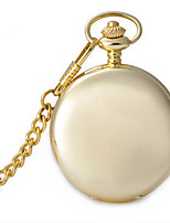 Women's Pocket Watch Quartz Water Resistant / Water Proof Alloy Band Gold