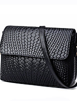 Women Bags All Seasons PU Shoulder Bag for Wedding Event/Party Casual Formal Office & Career Black