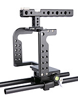 Yelangu professionnel dslr bracket support aluminium caméra cage c7 portable dv holder pour gh5
