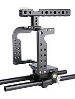 Yelangu professionelle dslr Halterung Unterstützung Aluminium Kamera Käfig c7 portable dv Halter für gh5