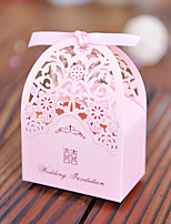 100 Favor Holder-Cuboid Card Paper Pearl Paper Favor Boxes Gift Boxes